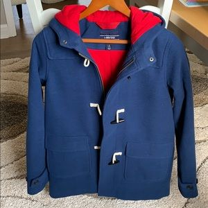 Lands End boys duffel jacket L EUC